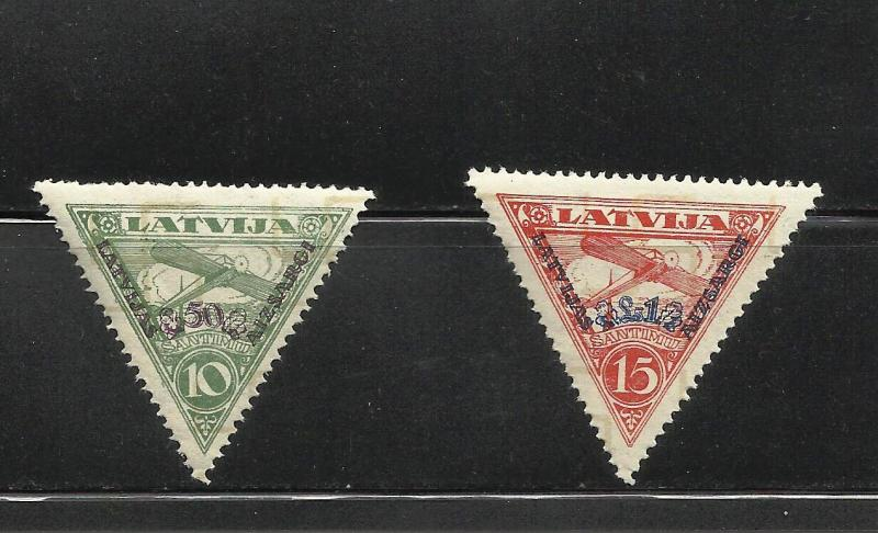 Lithuania Counterfeits of 1932 Air Mail Stamps