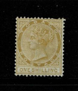 Tobago SG# 12 Mint Hinged / Hinge Rem / Tiny Top Crease - S6231
