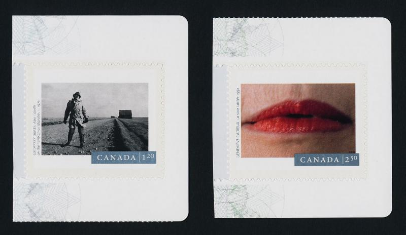Canada 2821-2 MNH Photography, 150 Years, Genevive Cadieux, Lips, Geoffrey James