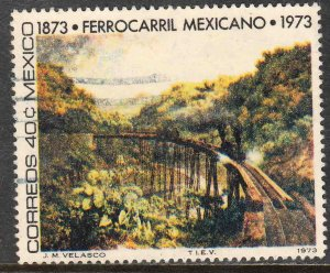 MEXICO 1050, 40¢ Centenary of Mexican Railroads. USED. VF. (777)