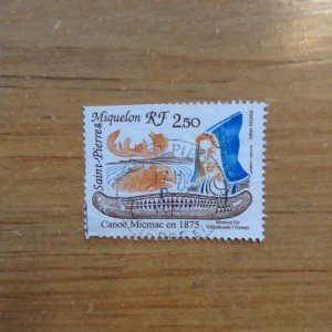 St Pierre & Miquelon SC 550 used