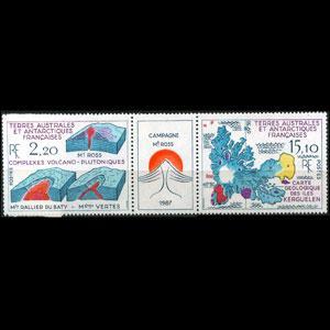 FR.S.& ANTARCT 1988 - Scott# 141a Mt.Ross Set of 2 NH