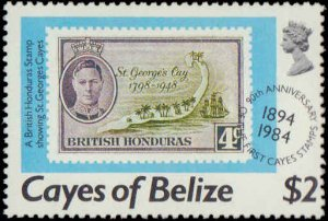 1984 Belize - Cayes of Belize #18-21, Complete Set(4), Never Hinged