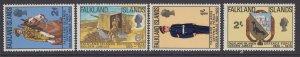 Falkland Islands, Scott 188-191 (SG 254-257), MLH
