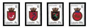 Gibraltar 474-77 MNH 1985 Royal Navy Ship Cress