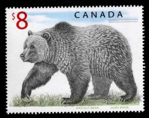 Canada Scott 1694 MNH** 8$ Grizzly Bear stamp