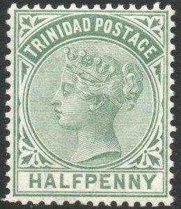 TRINIDAD-1883-94 ½d Dull Green Sg 106 UNMOUNTED MINT V46211