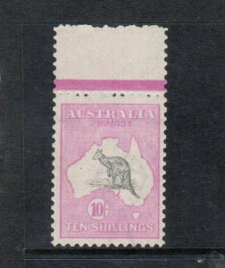 Australia #13 (SG #14) Very Fine Never Hinged - Hinge Faintly In Margin Only