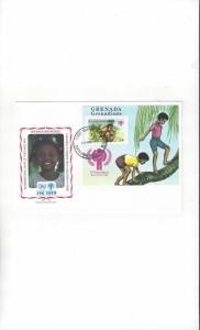 Grenada Grenadines FDC International Year of the Child 1979 Official Cachet