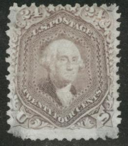 USA Scott 70 stamp, Faulty, corner problems appears mint