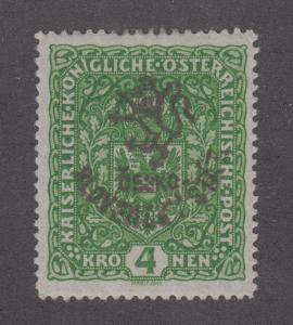 Austria, Czechoslovakia Netto 60 MLH. 1916-17 4h Hluboka w/ Provisional ovpt
