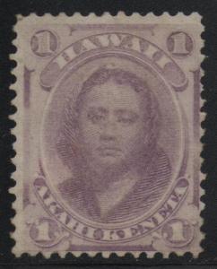 Hawaii US Scott #30a Mauve Mint OG Stamp