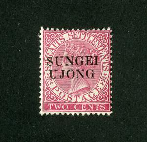 Sungei Ujong Stamps # 26 VF OG LH Scott Value $175.00