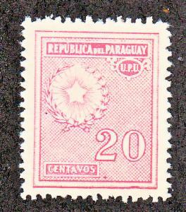 Paraguay Scott #279 MH