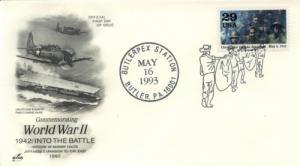 1993 WWII Corregidor Falls Butler PA Pictorial Artcraft
