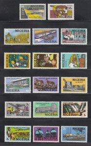 Nigeria Scott #291-307 MH