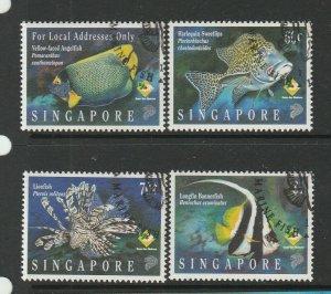Singapore 1995 Marine Fish FU SG 807/10