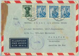 66643 - AUSTRIA - Postal History -   COVER to VENEZUELA 1953 - CENSORED!