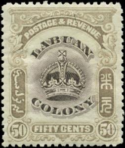 Labuan Scott #108 Mint