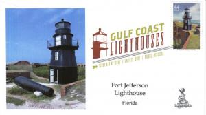Gulf Lighthouses FDC, from Toad Hall Covers!   (#2 of 5)