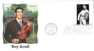 #3812 Roy Acuff Fleetwood FDC