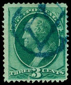 U.S. BANKNOTE CANCELS 147  Used (ID # 63825)