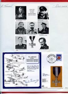 DM5 Distinguished Serive Cross Signed by Designer Tony Theobald
