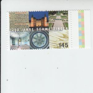2016 Germany City of Schwetzingen  (Scott 2893) mnh