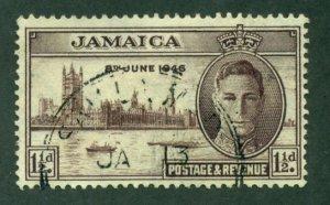 Jamaica 1946 #136 U SCV (2020) = $0.25