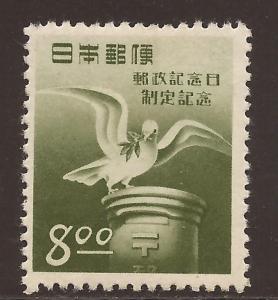 Japan  # 500  Mint