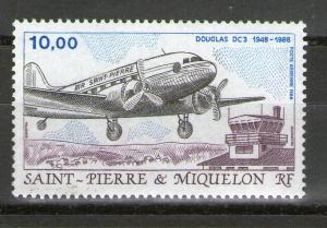 St. Pierre and Miquelon C64 MNH
