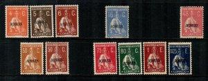 Azores #313A//313O  Mint  Scott $77.90