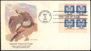 United States, District of Columbia, First Day Cover, Officials