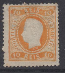 *Portugal #26 MLH, Fine, Some Damage from Hinge Removal