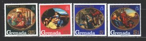 Grenada. 1968. 297-300. Christmas. MNH.