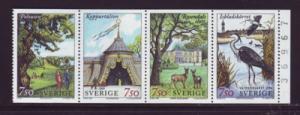 Sweden Sc 2194a 1996 Eco Park Stockholm  stamp booklet mint NH