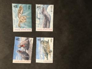 Br. Antarctic Territory Sc. #374-377 Mint VF-NH 2006 Seals Set of Four Complete