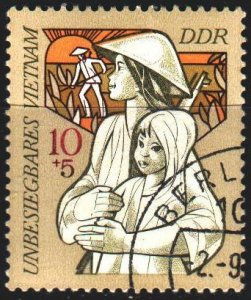 GDR. 1971. 1699. Solidarity with Vietnam. USED.
