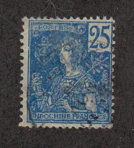 French IndoChina Scott #31 Used