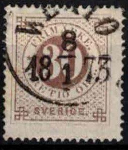 Sweden - SG 24 - 30ö Ringtyp perf. 14 CV 8.75£ (approx 10€)