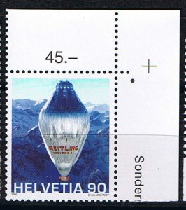 Michel# 1680 MNH Gas-/hot air balloon Breitling Orbiter 3
