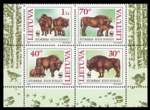1996 Lithuania 599-602VB WWF