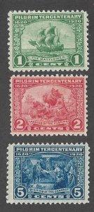548-550 Mint,OG,NH... SCV $97.50... Complete set