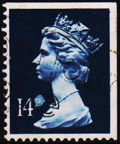 Great Britain. 1988 14p(Centre band) S.G.X903 Fine Used