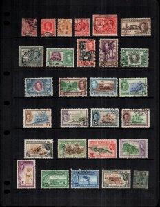 British Honduras  mint & used lot of 29