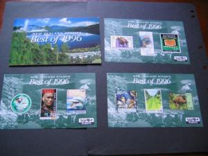 New Zealand S/S 1996 Best Pack MNH