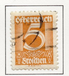 Austria 1925-27 Early Issue Fine Used 5g. NW-44184