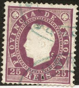Angola, Scott #19, Used