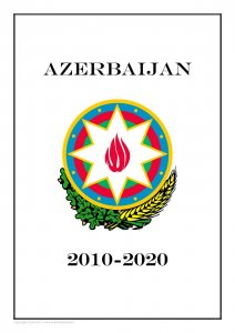 Azerbaijan 2010-2020 PDF(DIGITAL) STAMP ALBUM PAGES