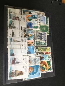 Australian Antarctic Territory Mint 32 Diff. F+-VF-NH 1957/1982 2015 Sc $93.50